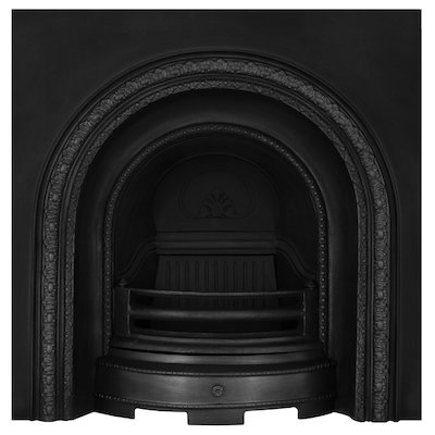 Carron Scotia Cast-Iron Arched Fireplace Insert