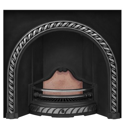 Carron Westminster Cast-Iron Arched Fireplace Insert