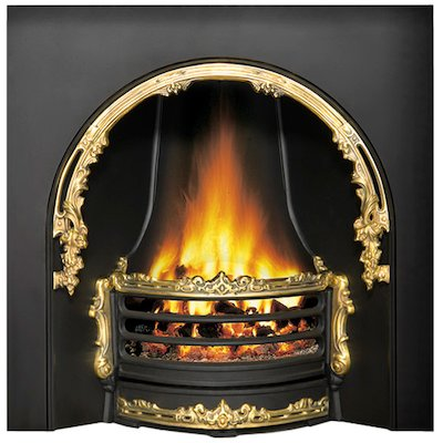 Stovax Adelaide Cast-Iron Arched Fireplace Insert