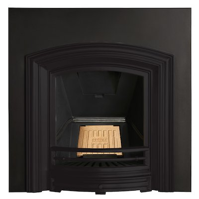 Stovax Alexandra Cast-Iron Arched Fireplace Insert