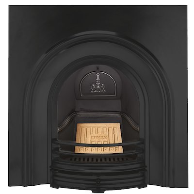 Stovax Classical Cast-Iron Arched Fireplace Insert