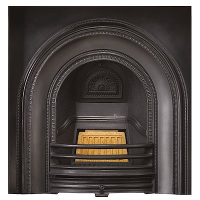 Stovax Decorative Cast-Iron Arched Fireplace Insert