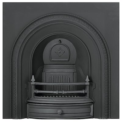 Gallery Radley Cast-Iron Arched Fireplace Insert