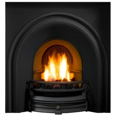 Gallery Tradition Cast-Iron Arched Fireplace Insert