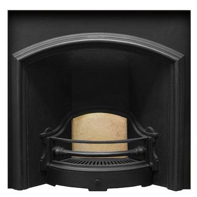 Carron London Plate Wide Cast-Iron Fireplace Insert