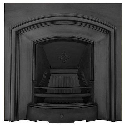 Carron London Plate Cast-Iron Fireplace Insert