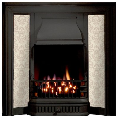 Gallery Soverign Cast-Iron Tiled Fireplace Insert