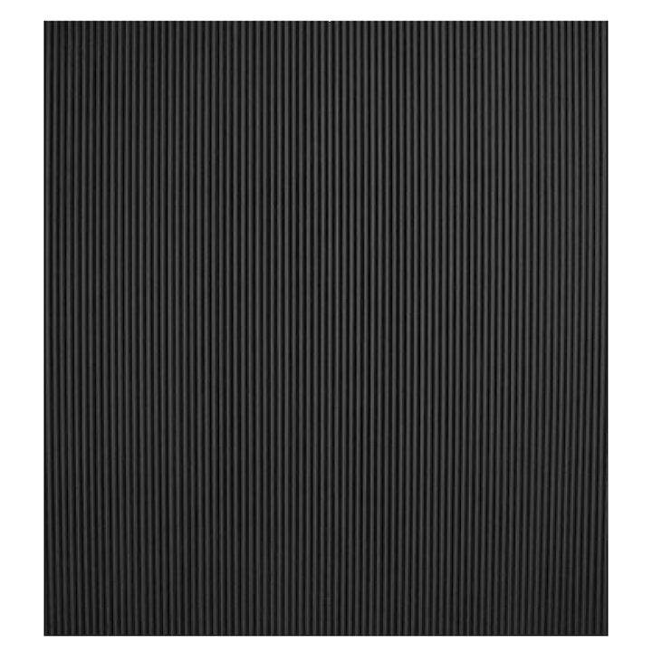 Calfire Cast-Iron Reeded Chamber Panels - Black