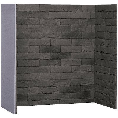 Gallery Pompeii Grey Brick Effect Chamber - Complete Lining Set