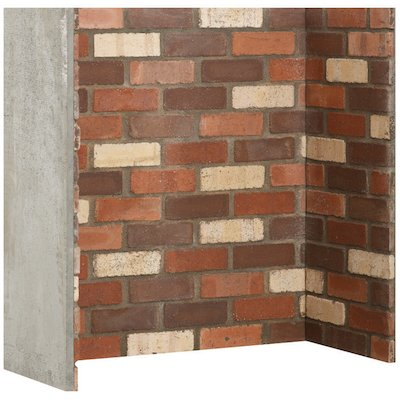 Gallery Rainbow Brick Effect Chamber - Complete Lining Set