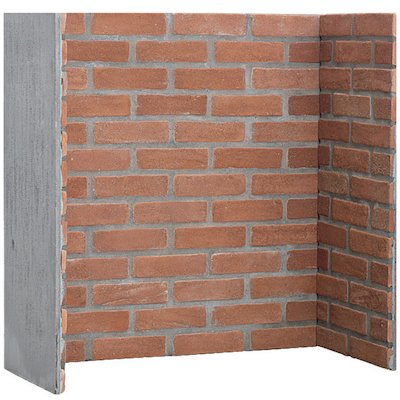 Gallery Red Brick Effect Chamber - Complete Lining Set