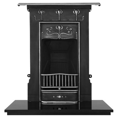Carron Abbott Cast-Iron Fireplace Combination