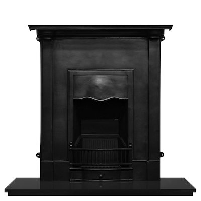 Carron Abingdon Cast-Iron Fireplace Combination