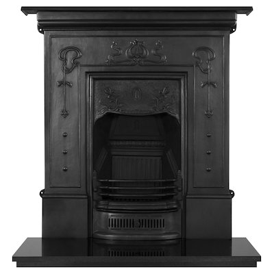 Carron Bella Large Cast-Iron Fireplace Combination