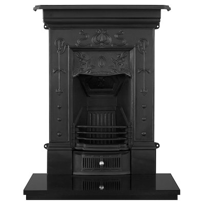 Carron Bella Small Cast-Iron Fireplace Combination