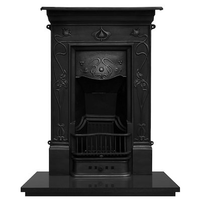Carron Crocus Cast-Iron Fireplace Combination