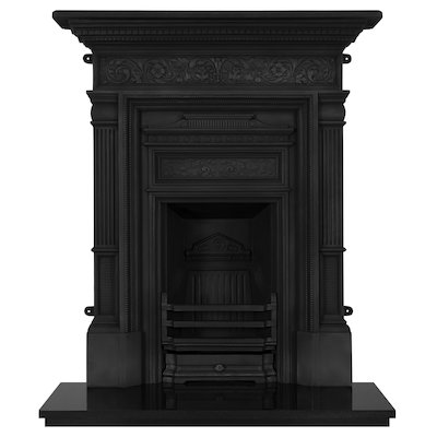 Carron Hamden Cast-Iron Fireplace Combination