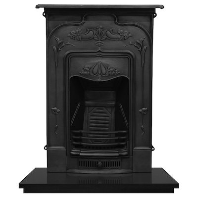 Carron Jasmine Cast-Iron Fireplace Combination