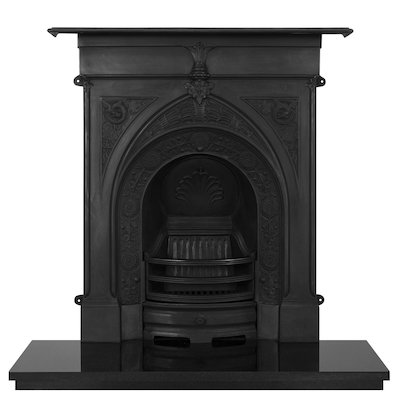 Carron Knaresborough Cast-Iron Fireplace Combination