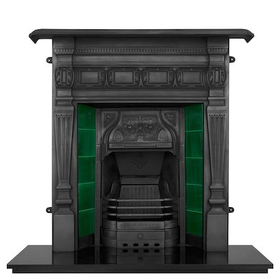 Carron Lambourn Cast-Iron Fireplace Combination