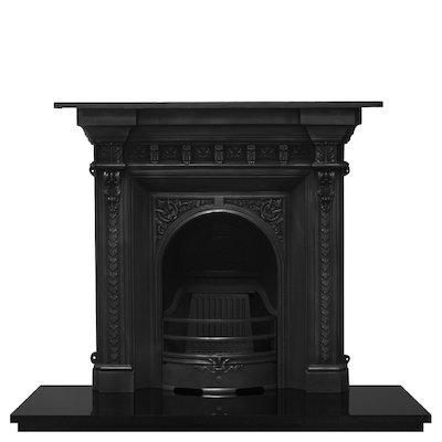 Carron Melrose Cast-Iron Fireplace Combination