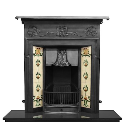 Carron Morris Cast-Iron Fireplace Combination