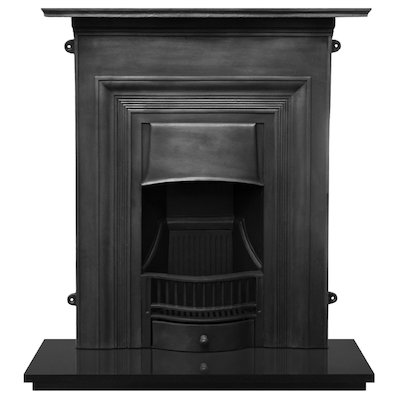 Carron Oxford Cast-Iron Fireplace Combination