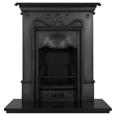 Carron Tulip Cast-Iron Fireplace Combination