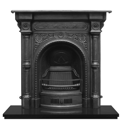 Carron Tweed Cast-Iron Fireplace Combination