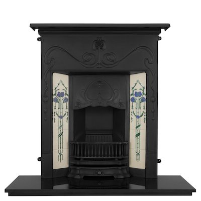 Carron Valentine Cast-Iron Fireplace Combination