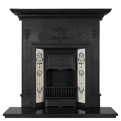 Carron Verona Cast-Iron Fireplace Combination