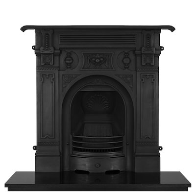 Carron Victorian Large Cast-Iron Fireplace Combination