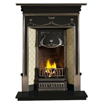 Gallery Fulham Cast-Iron Fireplace Combination