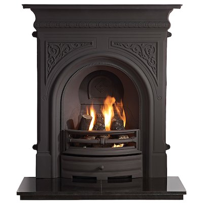 Gallery Celtic Cast-Iron Fireplace Combination