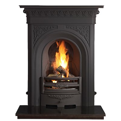 Gallery Nottage Cast-Iron Fireplace Combination
