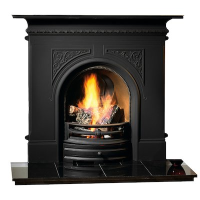 Gallery Pembroke Cast-Iron Fireplace Combination