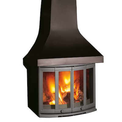 Dovre 2400 Wood Fireplace