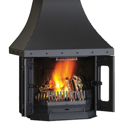 Dovre 2700 Wood Fireplace