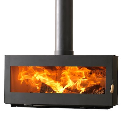 Burley Westhay 10 Panoramic Wood Stove