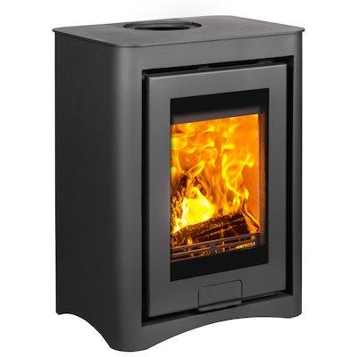 Di Lusso R4 Cube Wood Stove Black Arco