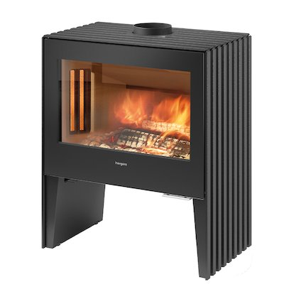 Hergom Glance Wide Wood Stove