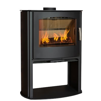 Mendip Churchill 10 Logstore Wood Stove