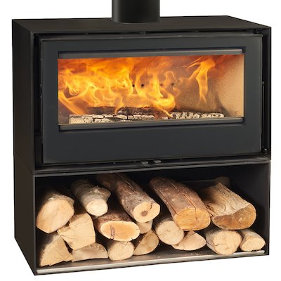 Rocal Habit 100 Logstore Wood Stove