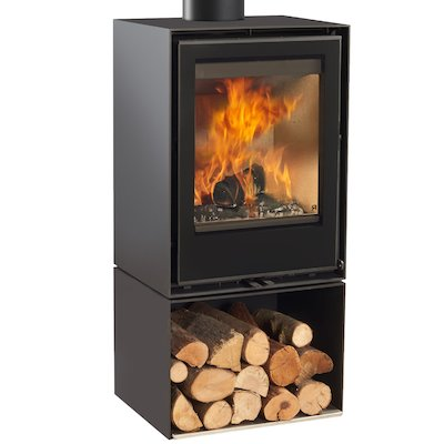 Rocal Habit 50V Logstore Wood Stove