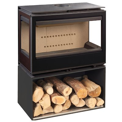 Rocal Habit 73 TC Logstore Wood Stove
