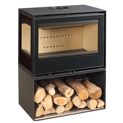Rocal Habit 76 Logstore Wood Stove