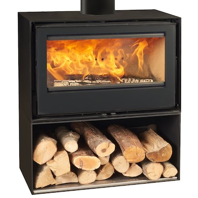 Rocal Habit 80 Logstore Wood Stove