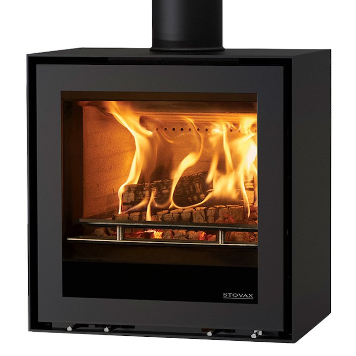 Stovax Elise 540 Wood Stove - Black