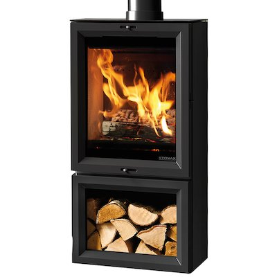 Stovax View 5 Tall Midline Wood Stove