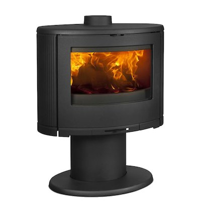 Dovre Bow Pedestal Wood Stove